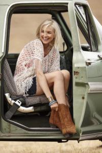 Cowboystiefel Damen_Shorts