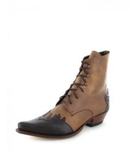 Sendra Boots 11699 Choclolate Westernstiefelette - braun