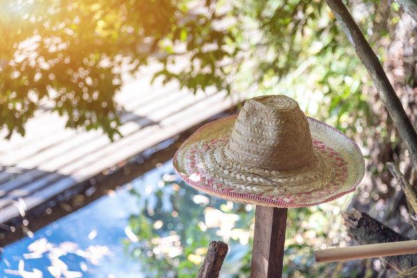 Strohhut für den perfekten Sommer-Look