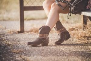Westernstiefeletten für Damen für den Sommer