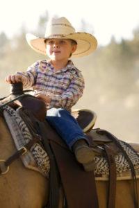 braune Westernstiefel für Kinder