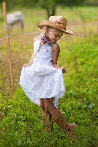 braune Cowboystiefel für Kinder
