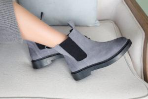 Wildleder Chelsea Boots