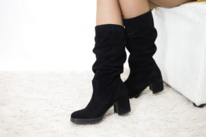 Wildleder Stiefel für Damen